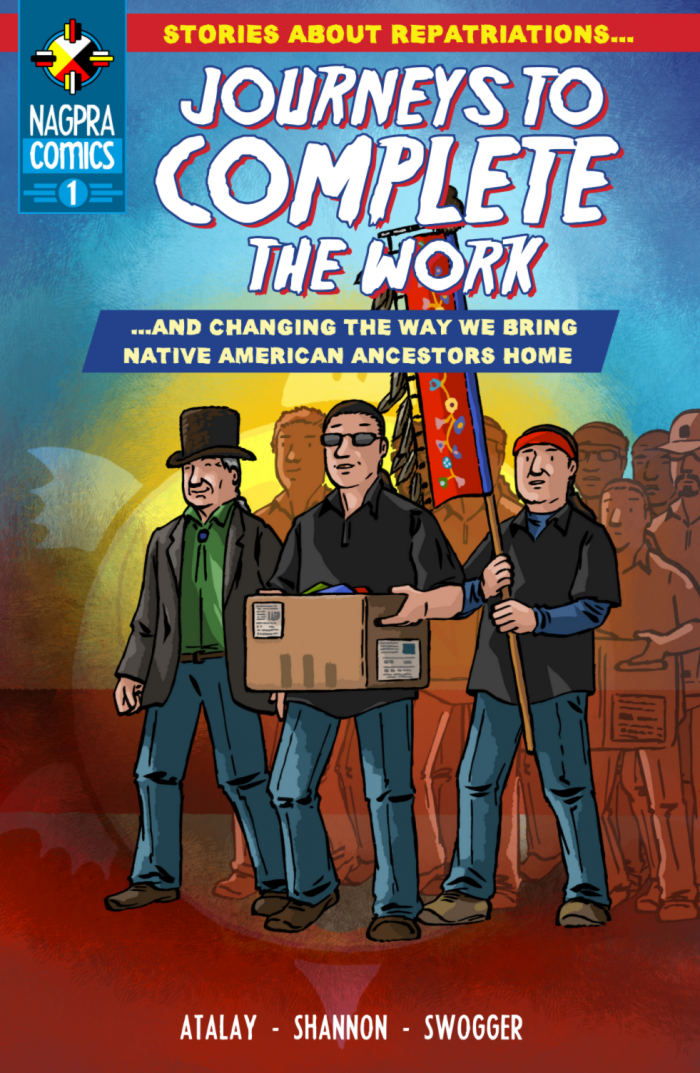 Cover of NAGPRA Comics 1: Journeys to Complete the Work