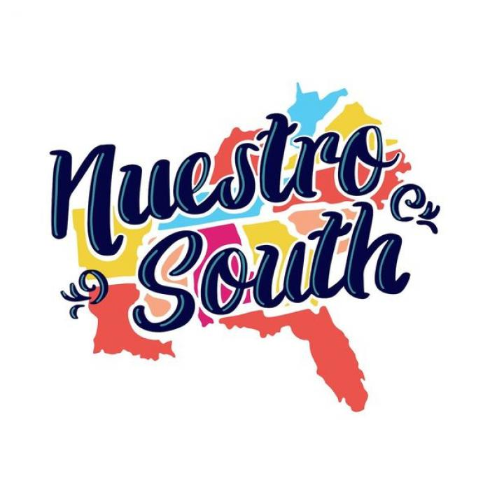 Nuestro South podcast logo