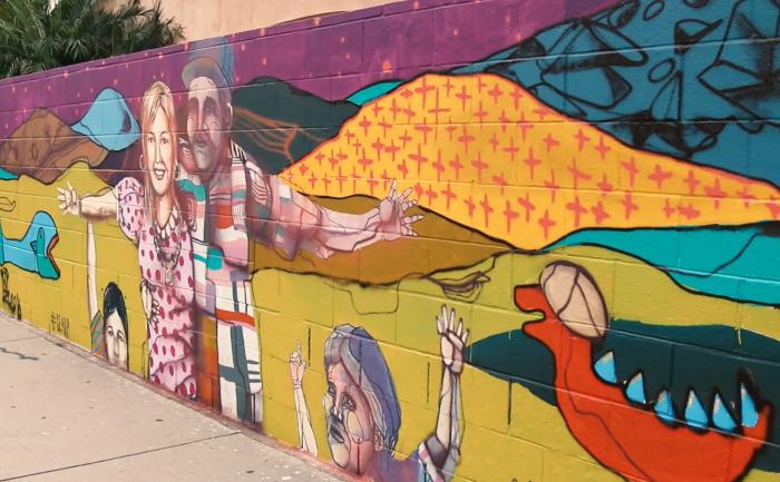 A community mural in El Monte