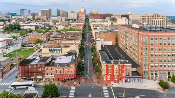 Downtown Wilmington