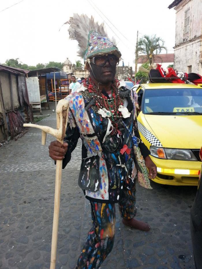 Congo Performer and VIsual Artist Yaneca Esquina