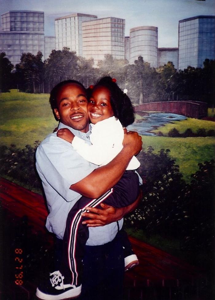Allen and Tanasha (Studio prison portrait, 1998)