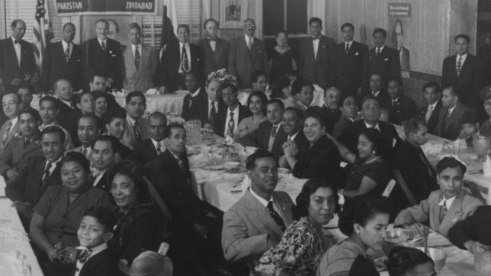Pakistan League of America banquet, NYC (1952)