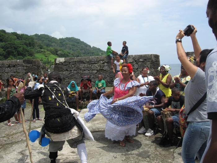 Congo Couple Dancing (Photo by Oronike Odeleye)