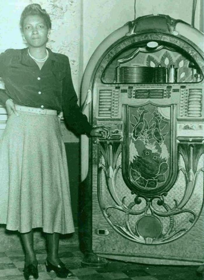 Gertrude Littlejohn, co-owner of Littlejohn's Grill
