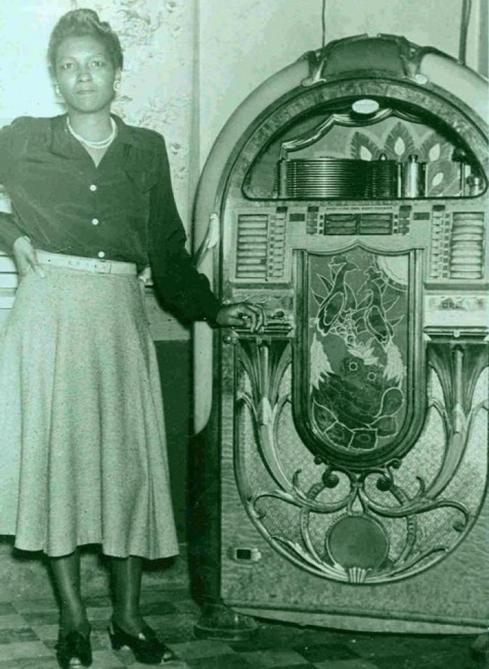 Gertrude Littlejohn, co-owner of Littlejohn's Grill