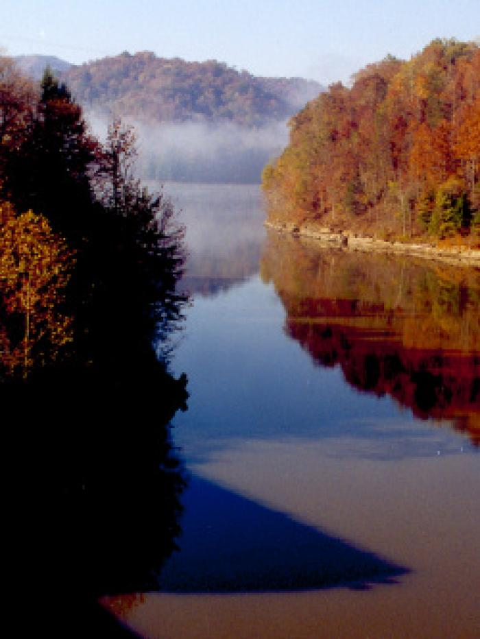 Martins Fork Lake in Harlan County, KY - photo by US Army Corps of Engineers
