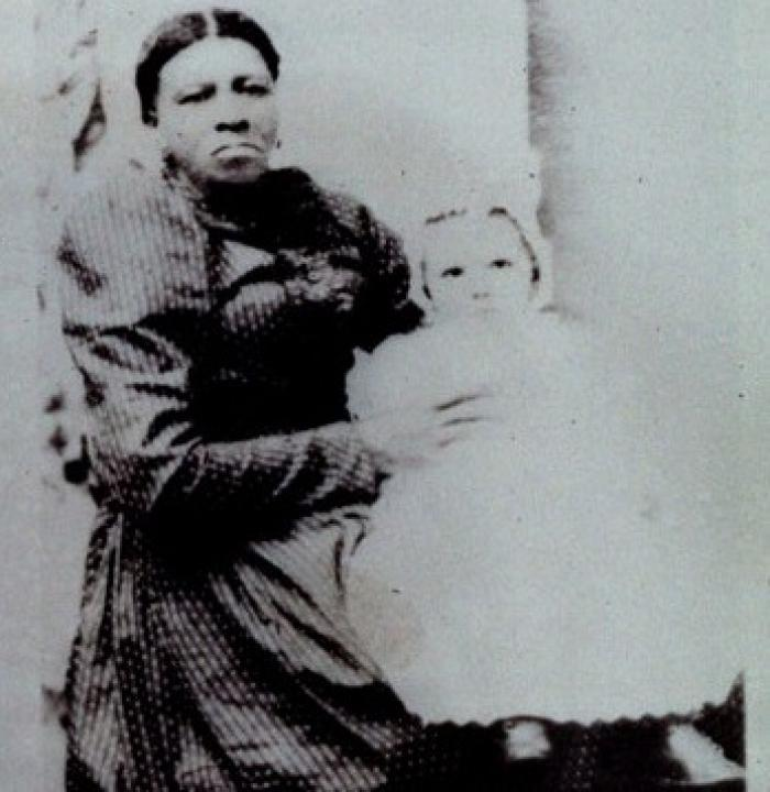 Susan Clemson Richardson, born into slavery and lady's maid to Anna Calhoun Clemson and caretaker of the Clemson children - photo circa 1880 (credit: Special Collections and Archives, Clemson University Libraries)