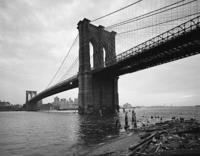 Brooklyn Bridge (photo by Jet Lowe)