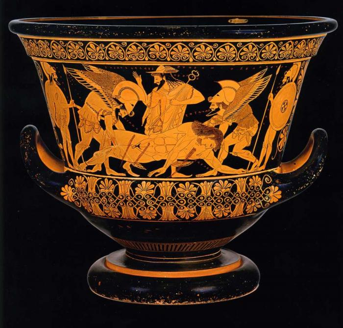 Euphronios Krater (circa 515 BCE, National Etruscan Museum, Rome), one of the highest profile objects in repatriation debates